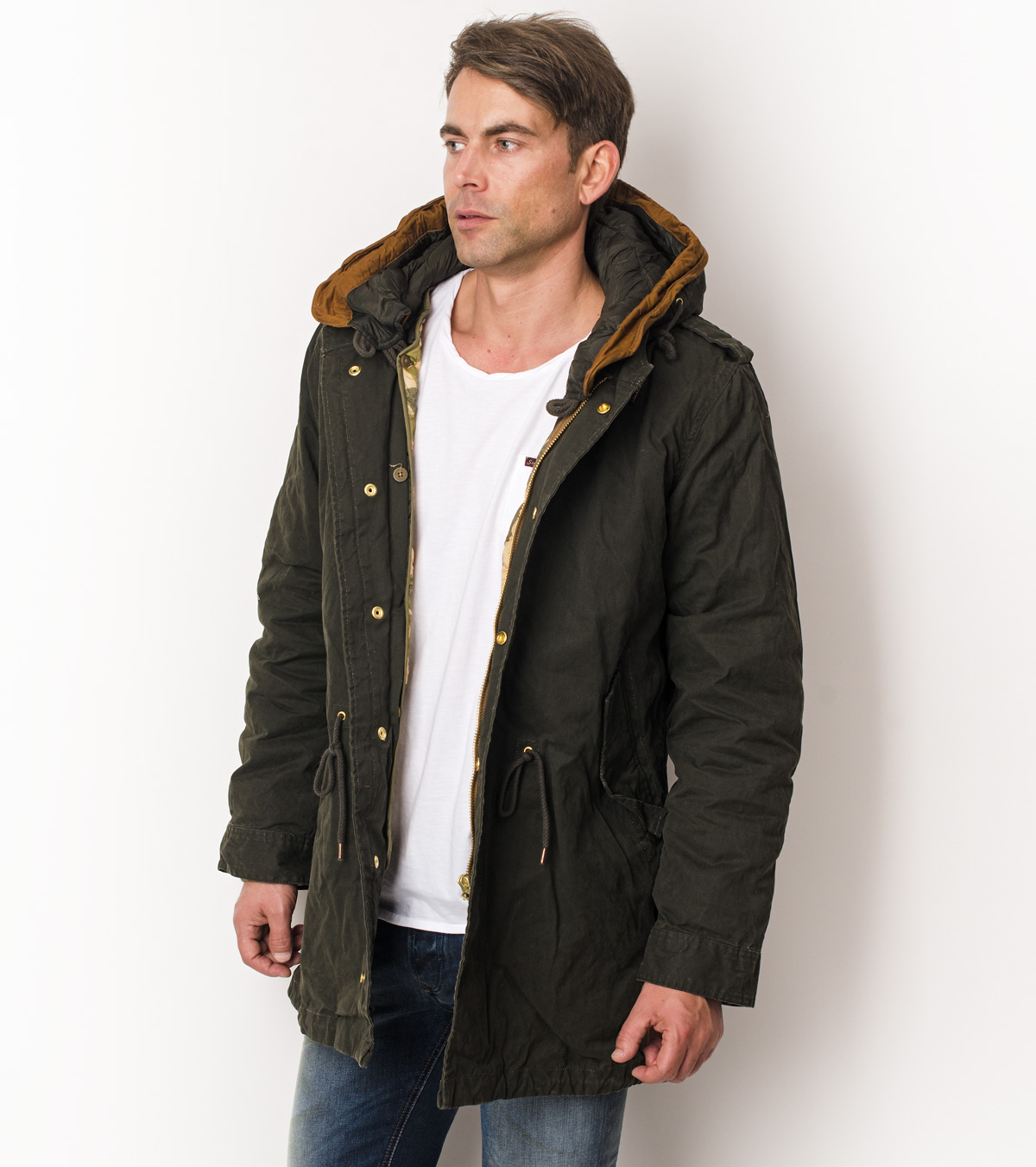 scotch and soda parka herren hoodboyz innerhalb von. Black Bedroom Furniture Sets. Home Design Ideas